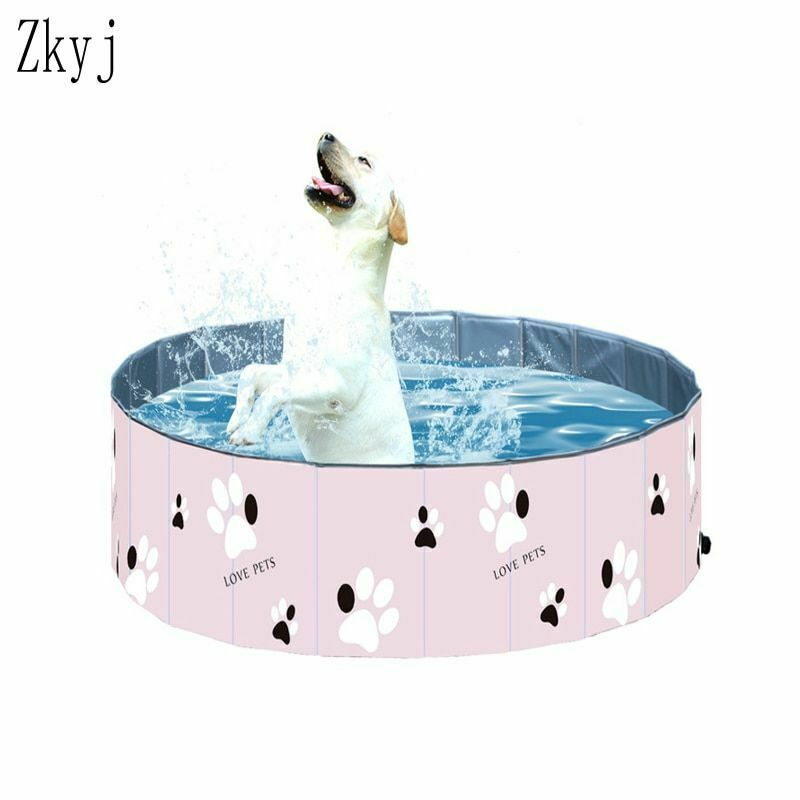 Pet Swimming Pool Inflatable Collapsible Outdoor And Indoor Summer Bathing Tub