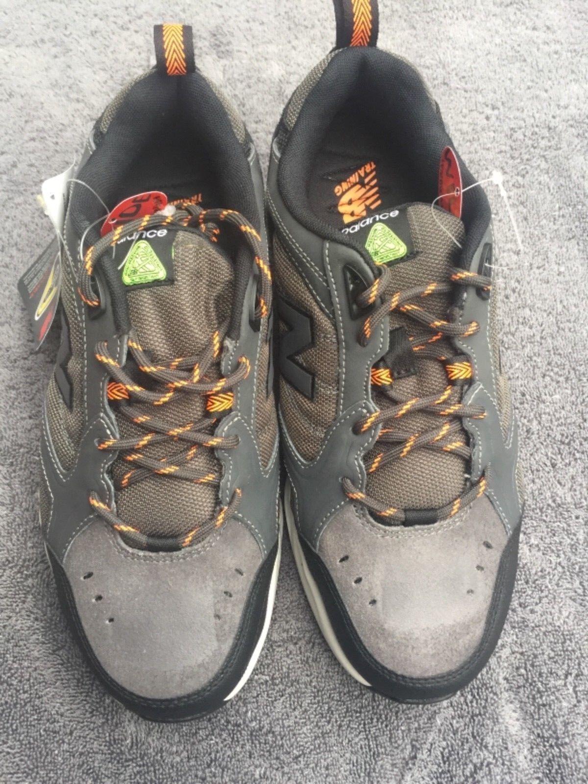 New Balance Men's Steel Toe 627 MID627G Textile shoes Size   14