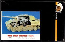 JAGUAR MODELS 63512 - KING TIGER INTERIOR CONVERSION (TAMIYA) 1/35 RESIN KIT