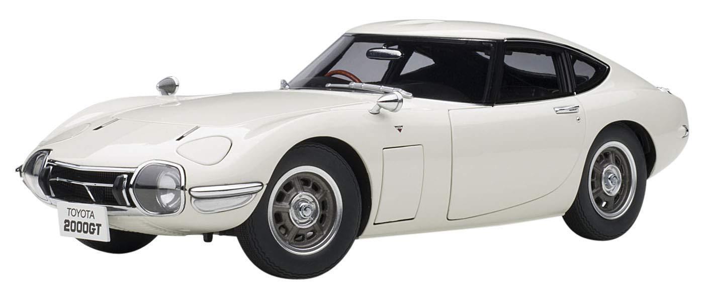 AUTOart  1 18 Toyota 2000 GT blanc Composite Diecast Model 78753 EMS W T  profitez de 50% de réduction