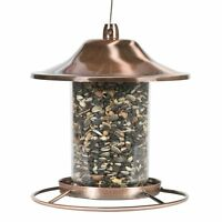 Perky Pet Bird Feeder Garden Fowl Seed Food Dispenser Birdfeeder Circular Perch