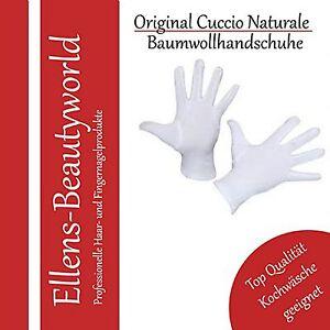 Kleidung & Accessoires Baumwollhandschuhe Weiß Cotton Gloves White Allergiker Geeignet Gr.s/7 Top Marke Bequem Zu Kochen