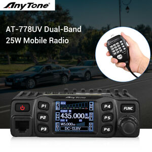 AT-778UV-Dual-Band-25W-Portable-Vehicle-Mobile-Radio-CB-2-Way-Transceiver-Mic