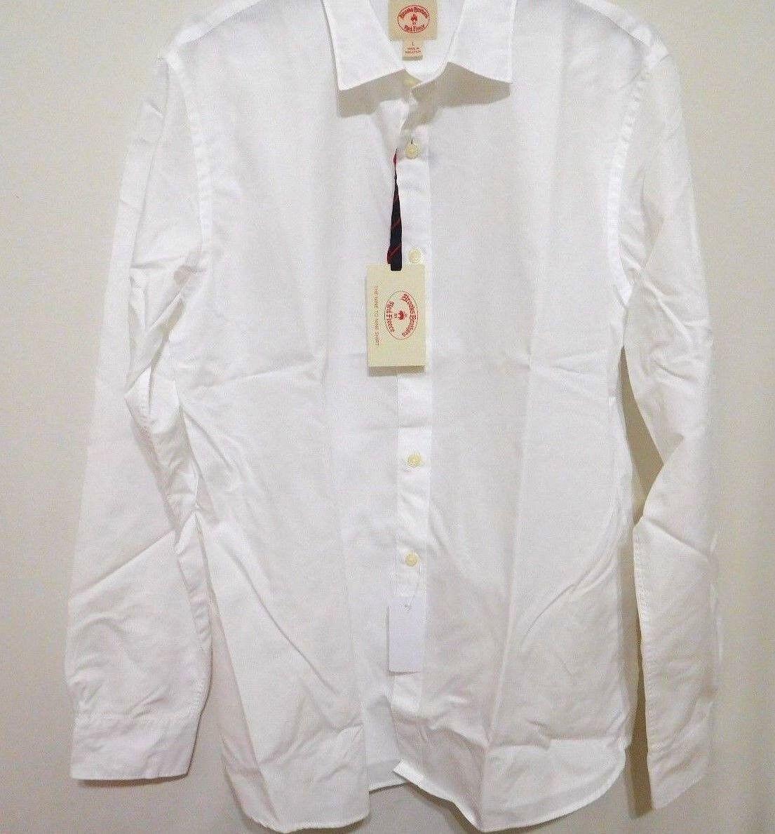Brooks Bros Men Nine to Nine Slim Fit Shirt -  Extra Large XL NEW MenDamensStyles