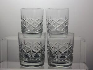 Cut Glass Crystal Tumblers Tumblers Set Of 4 Lskx0ghy-08010047-708854613