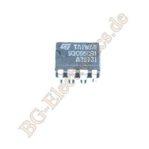 1 x ST93C66CB1 4K 256 x 16 or 512 x 8 SERIAL MICROWIRE EEPRO STM DIP-8 1pcs