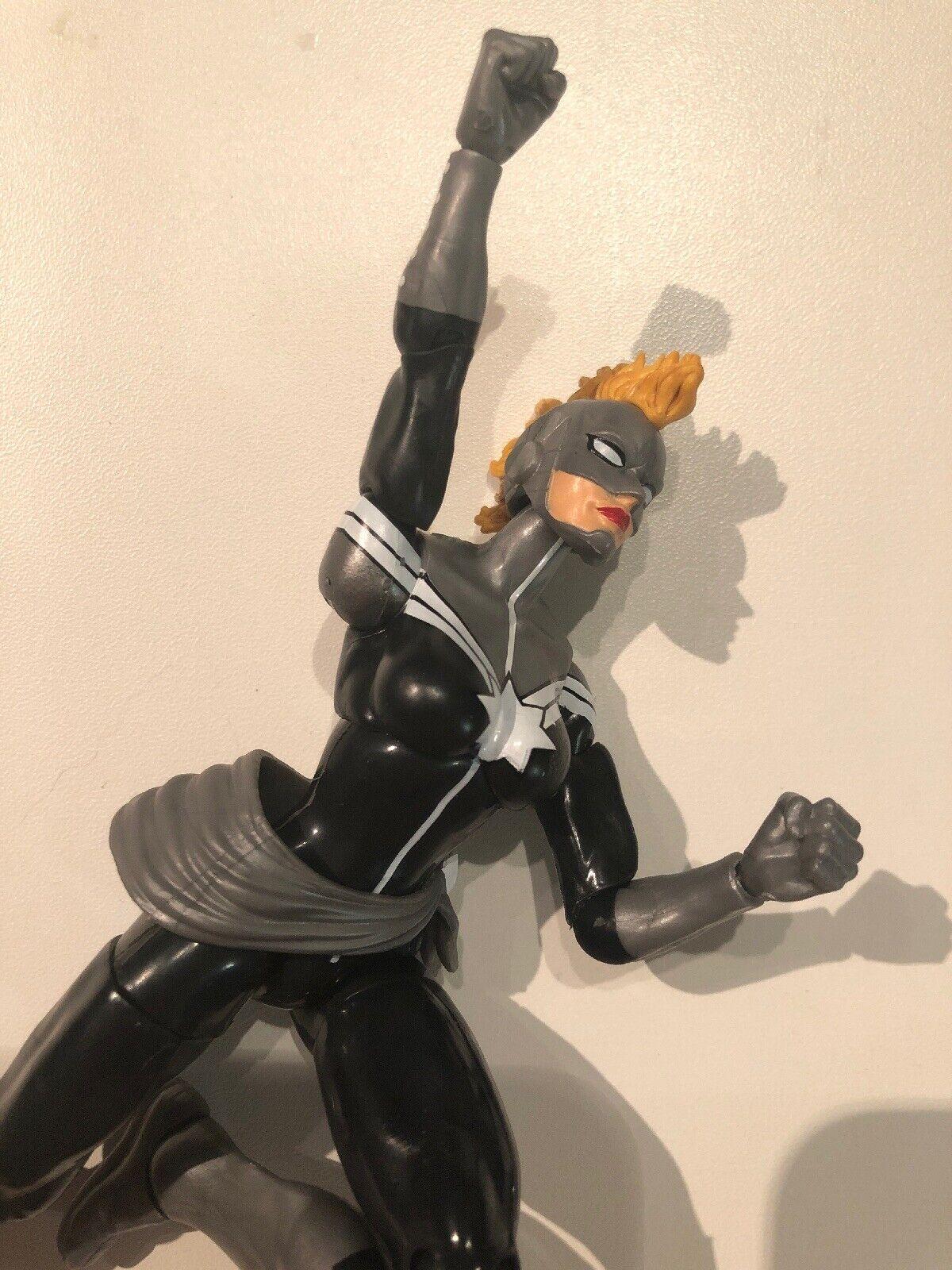 Marvel Leyendas Ilimitado exclusivo Capitán Marvel gris acción figura Danvers