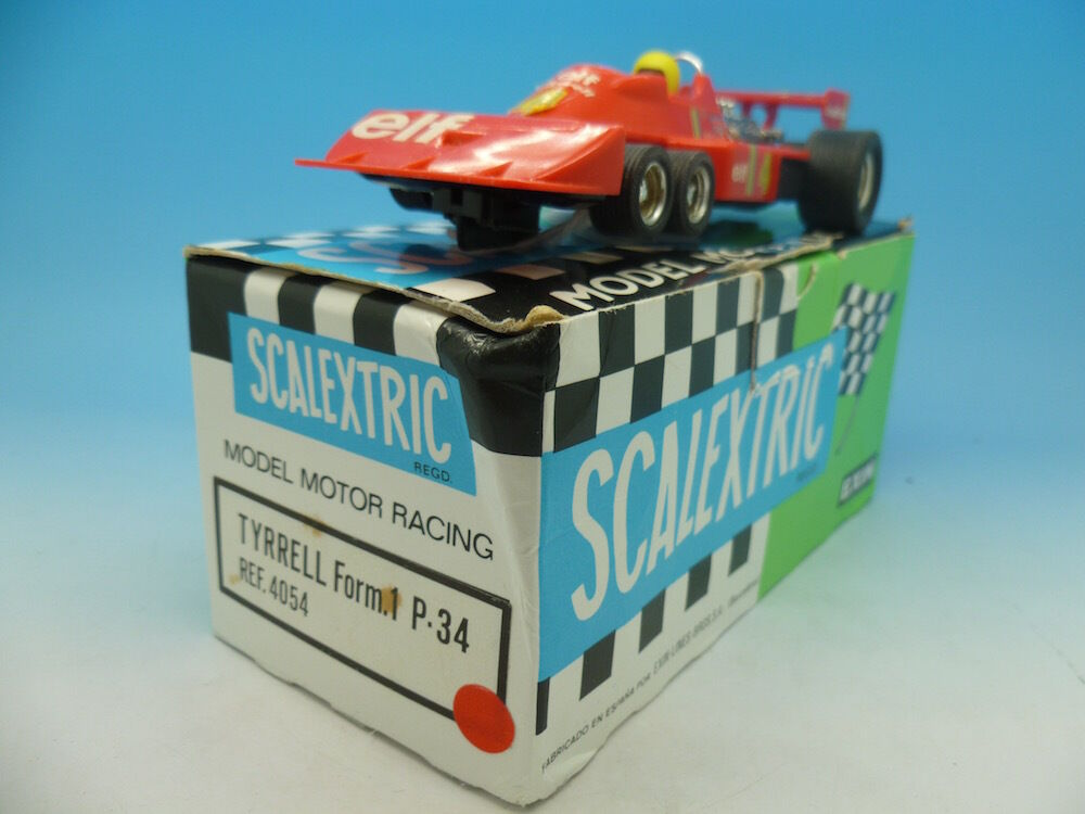 Scalextric Exin 4054 Tyrrell form.1 P34  in Red, boxed shop fresh