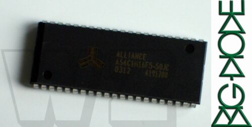 1 X AS4C1M16F5-50JC 5V 1M 16 CMOS DRAM rápido modo de página Plástico Clavijas 400 mil