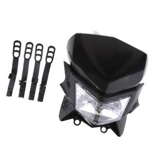 Pit-Dirt-Bike-StreetFighter-Fanale-anteriore-a-LED-per-moto-nero