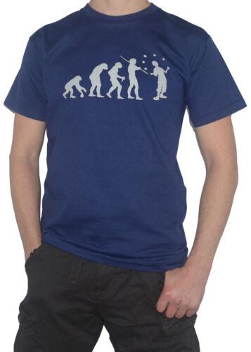 Ma Tasse de TEE Clown EVOLUTION Drôle T-Shirt balles de jonglage//jongleur