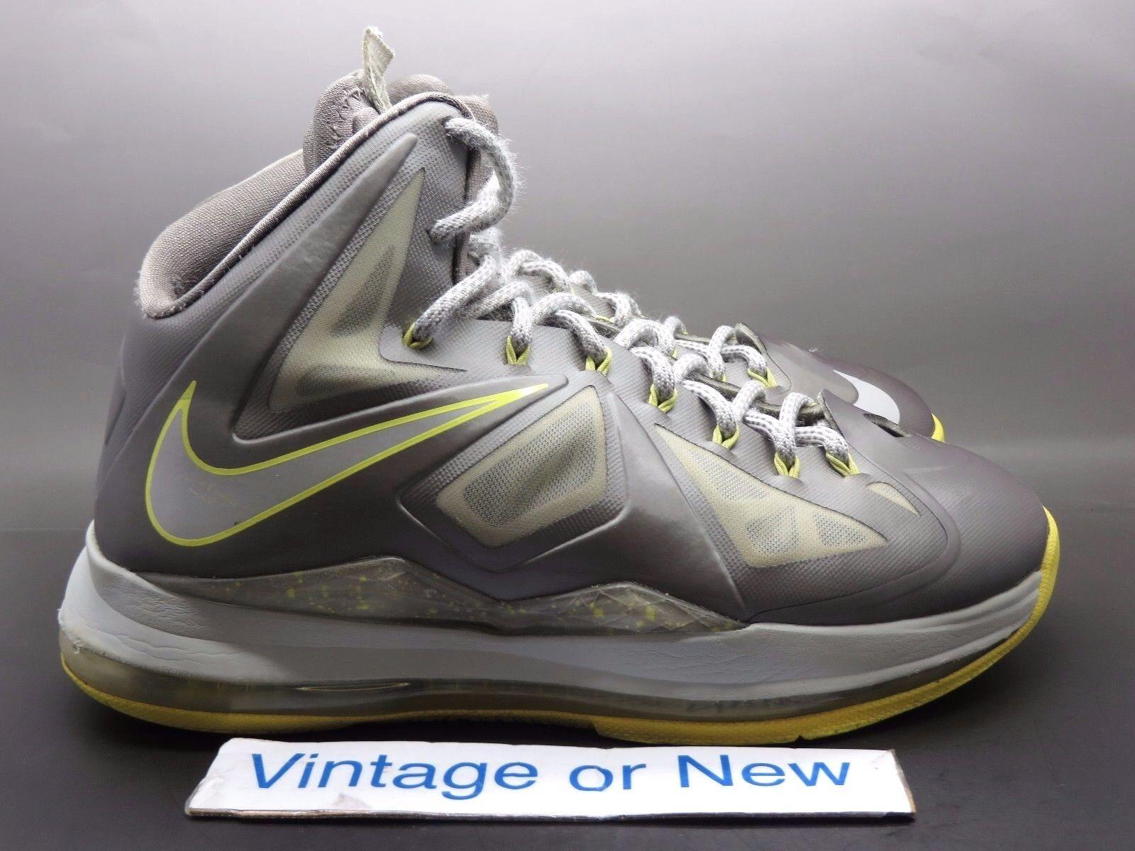 Nike lebron x - 10 diamante canary sz - x 8 87fb7a