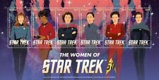 Star Trek 50th Anniversary- The Women Of Star Trek, Collectible Postage Stamps,