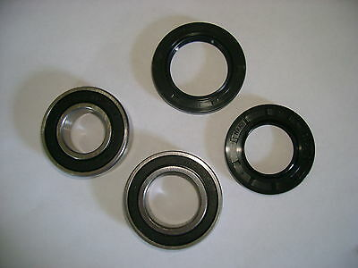 Rear Axle Bearings and Seals Kit Compatible with Honda 2002-06 TRX250 Recon