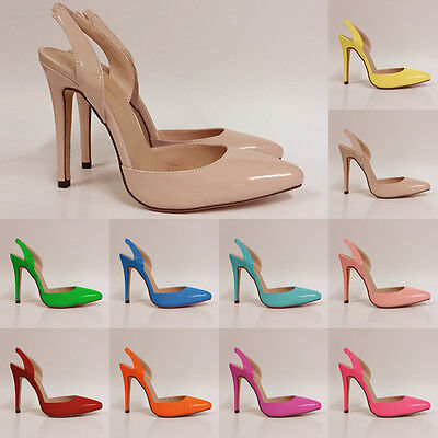 Womens New Brand High Heels Stilettos Ankle Strap Wedges Platform Sexy Shoes 2-9