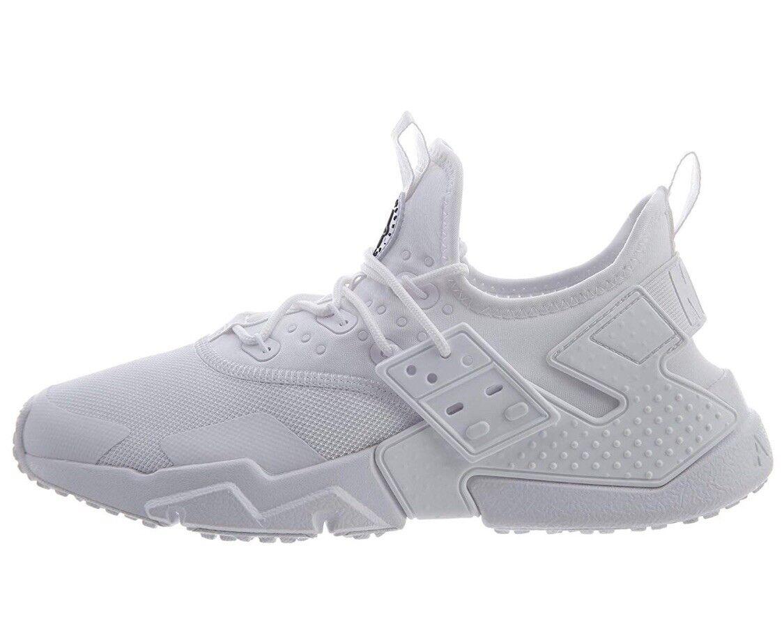 Nike Air Hauarache Men's Run Drift White Low Top Sneakers AH7334 100 Size 8