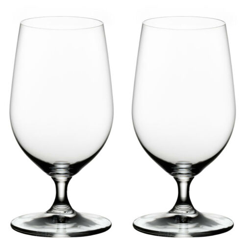 Set of 2 Riedel Ouverture Stemmed Beer Water Glass