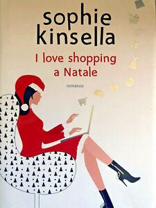 LIBRO-Sophie-Kinsella-I-love-shopping-a-Natale-1-Edizione-AUTOGRAFATO-2019