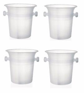 4 Stück Flaschenkühler<wbr/>, Weinkühler, Sektkühler, 20,5 cm Ø, 4,0 Liter Inhalt