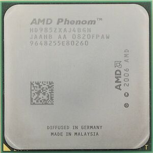 AMD-Phenom-X4-9850-HD985ZXAJ4BGH-4-Nucleos-2-5-GHz-2-0-GHz-HT-Black-Edition