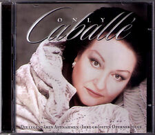 Montserrat CABALLÉ ONLY CABALLE 2CD La Boheme Tosca Traviata Carmen Norma  Verdi