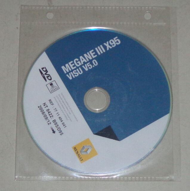 Workshop Manual Electric  Schematics On Dvd Renault Megane