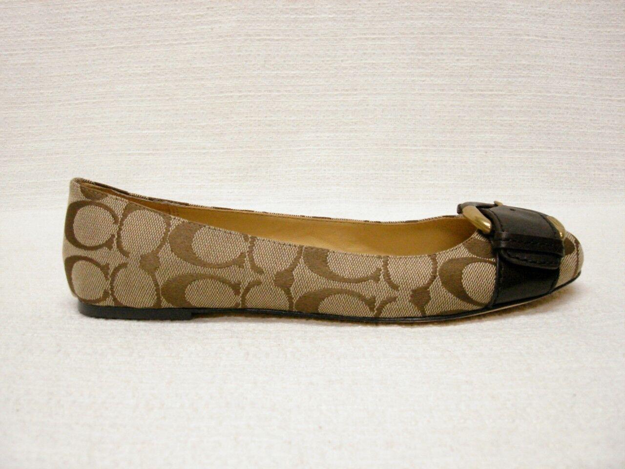 168 Nuevo en Caja entrenador firma Amelia Caqui Jacquard Zapatos sin Taco Hebilla de acento 6 M  100% a estrenar con calidad original.
