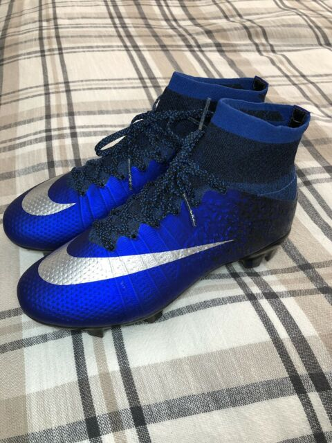 pretty nice 166e5 7d439 Nike Mercurial Superfly CR7 Chapter 2: Natural Diamond FG Size 4Y Blue