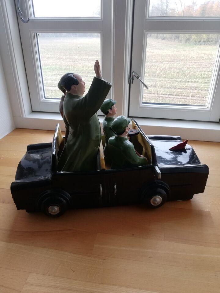 Militær, Mao på tur i sin porcelæns limousine