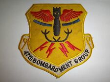 US Air Force 47th BOMBARDMENT GROUP (Light) Patch