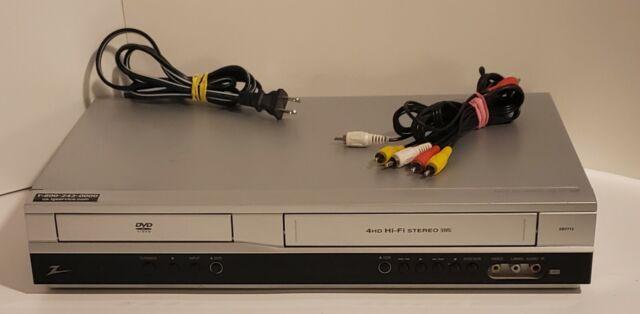 Zenith XBV713 Component Video Cassette Recorder VCR DVD Player *No Remote*