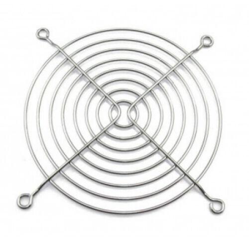 120mm Standard Wire Case Fan Guard Grill - Chrome