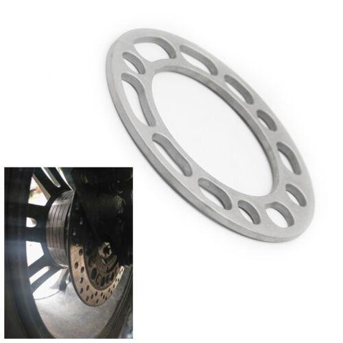 4x6MM Car Hub Wheel Spacers Adaptor Aluminum Shims 5//6 Stud Brake Caliper Part