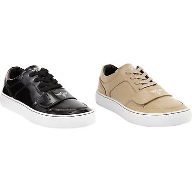 NIB Cesario Patent Mens Leather Sneaker