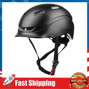 Bike Helmets w/ USB Light for Bicycle Cycling Helmet Adjustable 21.65-24.41inchs