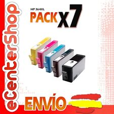 7 Cartuchos de Tinta NON-OEM HP 364XL - Photosmart Premium C410 a