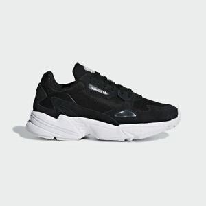 Details about New Adidas Original Womens FALCON BLACK WHITE B28129 US W 5 10 TAKSE AU