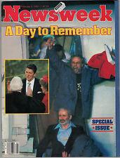 Newsweek 1981 Iran Hostage Crisis Ronald Reagan Inauguration Nancy Ted Kennedy