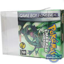 5 Nintendo Game Boy Advance Box Protectors STRONG 0.5mm PET Plastic Display Case