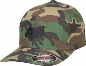 4009c7b6e7f2d7 Image is loading Fox-Racing-Mens-Legacy-Flexfit-Hat-Camo