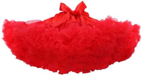 Baby Girl Kids Fluffy Tutu Party Dance Cake Skirts Pettiskirt Halloween Xmas