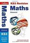 KS3 Maths (Advanced) All-in-One Revision and Practice (Collins KS3 Revision) by Collins KS3 (Paperback, 2014)