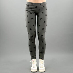My-T-Shirt-Leggings-schliessen-Sterne-grau-Mod-Sterne