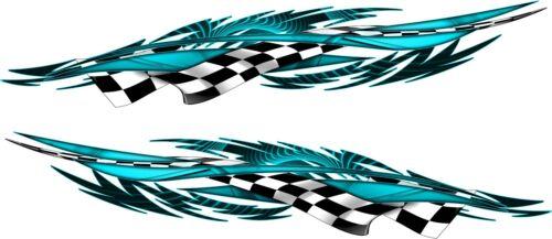 """Helmet Boat Car Motorcycle Graphics Decals Vinyl Stickers 10/"""""""