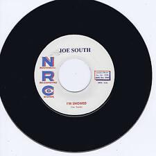 JOE SOUTH - I'M SNOWED / CHILLS (TOP NOTCH GUITAR ROCKABILLY STROLLERS) REPRO