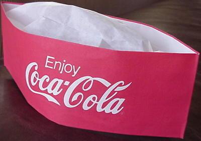 4 ~ 1950/'s Look Soda Jerk Paper Hats  Ice Cream Social  Party Planner  4 COLORS