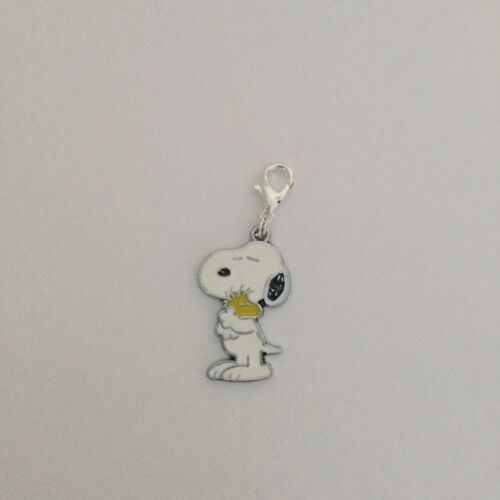 Snoopy /& Woodstock//Peanuts Clip On Dangle Charms Gift Charlie Brown Present