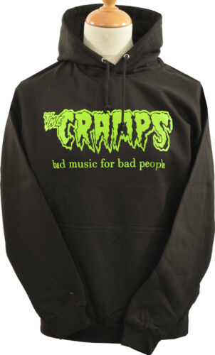 UNISEX PSYCHOBILLY HOODIE HOODY CRAMPS BAD MUSIC HORROR LUX INTERIOR S-5XL