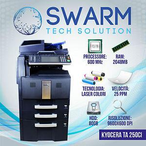 Fotocopiatrice-Multifunzione-KYOCERA-TASKalfa-250-300ci-Colore-Formati-A3-A4-TA