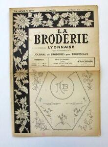 La Broderie Lyonnaise N°1071 - 1951 - Broderies Pour Trousseaux - Alphabet - 5kpwwnqg-07161716-886933389